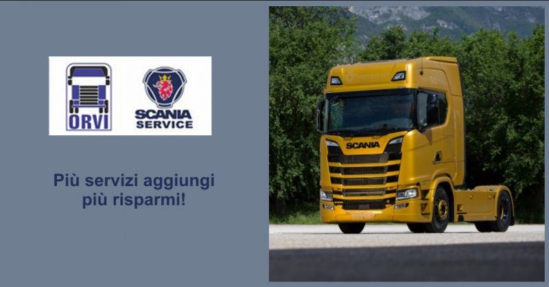 ORVI - offerta Scania Service per il Friuli Venezia Giulia Udine Gorizia Pordenone Trieste